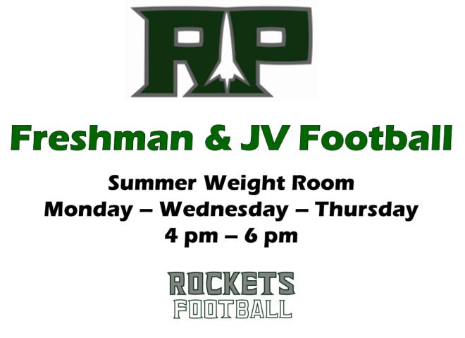 Summer Weight Room