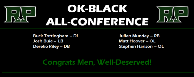OK-Black All-Conference ROCKETS