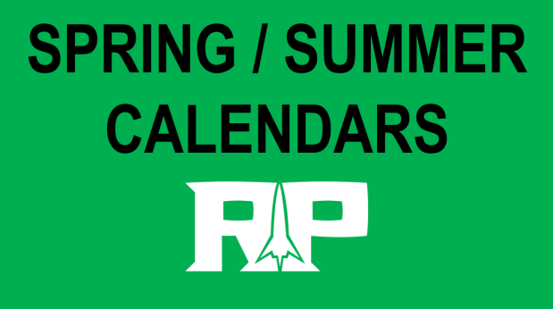 SUMMER CALENDARS – MIDDLE & HIGH SCHOOL
